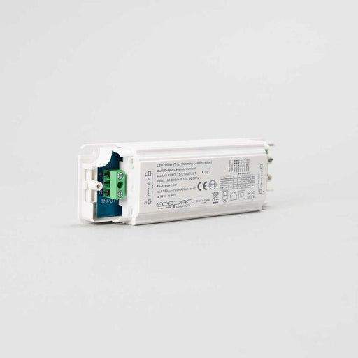 Ecopac ELED-15-C150//700T Selectable Constant Current LED Driver 150-700mA