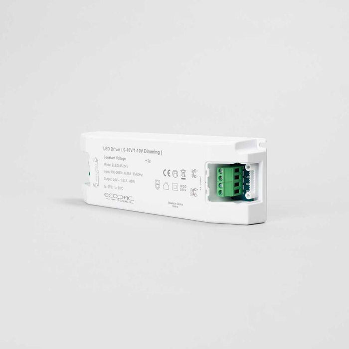 Ecopac LED Driver 45W 24V (0-10V, Dimmable)