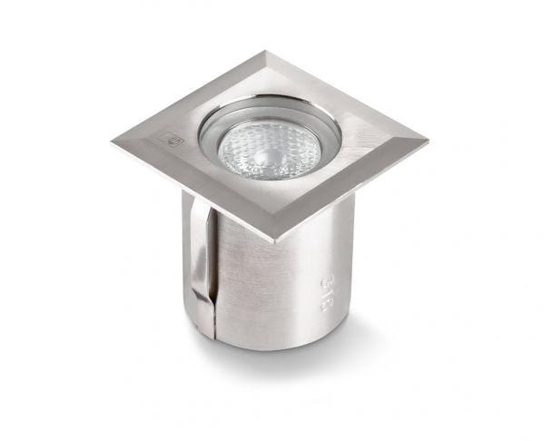 Collingwood GL019 SQ 1W IP68 Square Mini LED Ground Light - Prisma Lighting