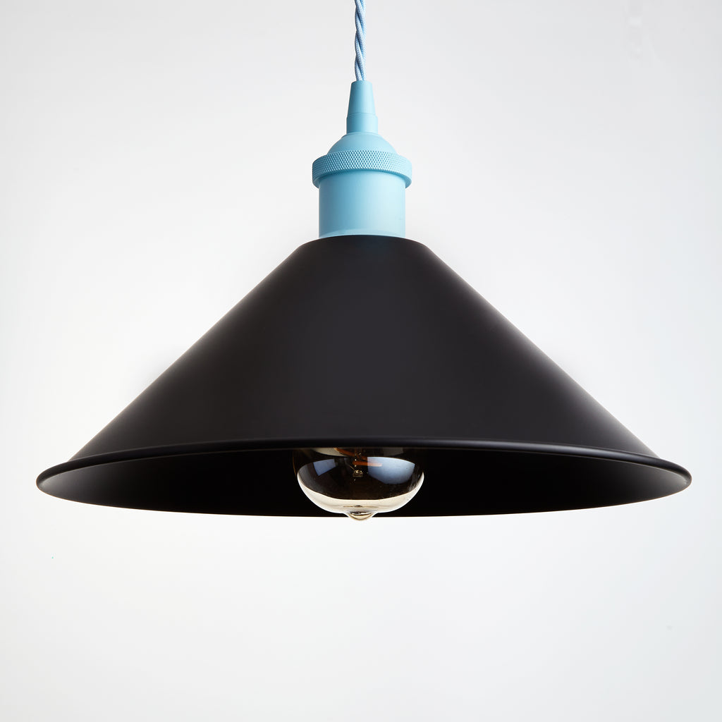 RETRO Black Metal Shade - Prisma Lighting