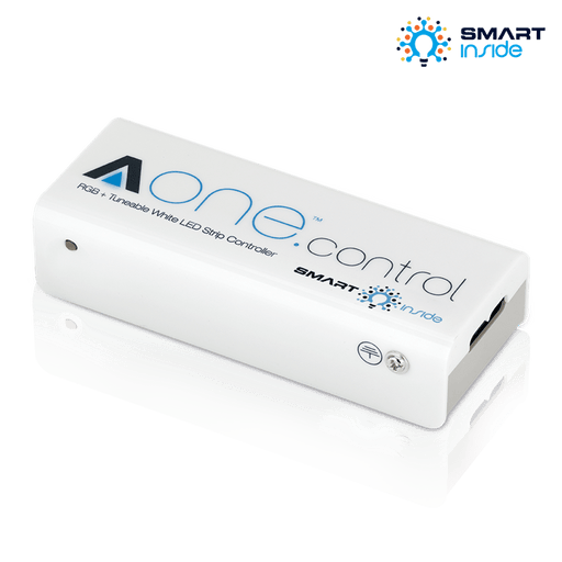 Aurora AU-A1ZBSCRGBCX AOne RGB + Tuneable White 12/24v Strip Controller - Prisma Lighting