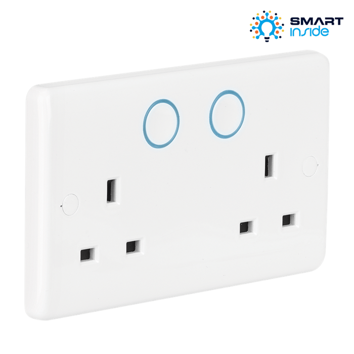 Aurora AU-A1ZBDSS AOne 13A Smart Double Socket - Prisma Lighting