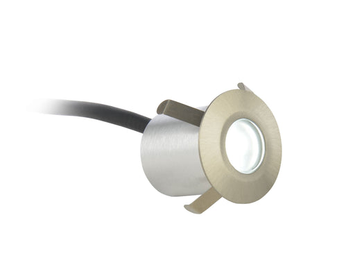 Culina IP65 Circular LED 0.5W Day Light Mains Voltage Plinth/Decking Light - Prisma Lighting
