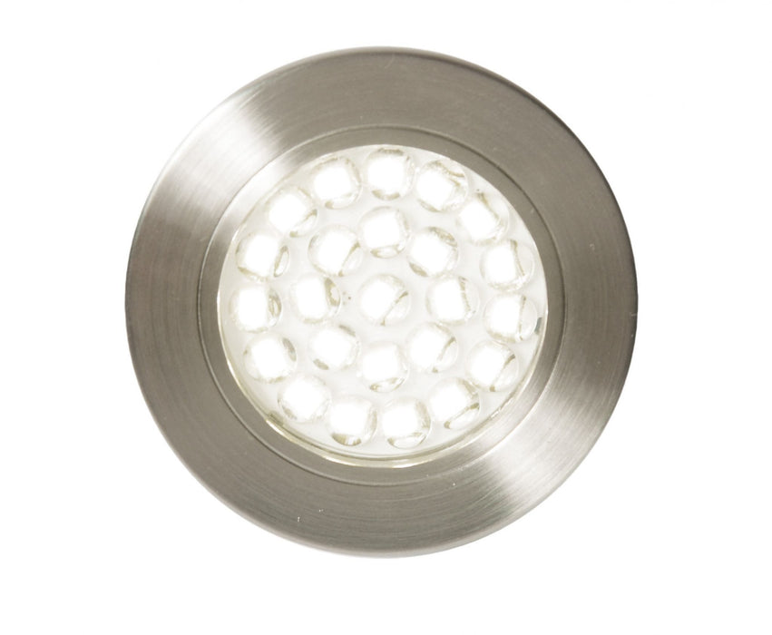 Pozza LED 1.5W Recessed Cool White Under Cupboard Light 240V - Prisma Lighting