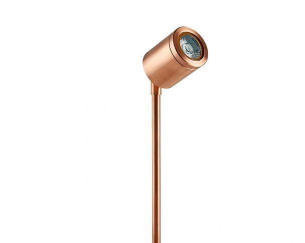 Collingwood SL220CWBM27 Copper Straight to Mains LED Spike Light 2700K - Prisma Lighting