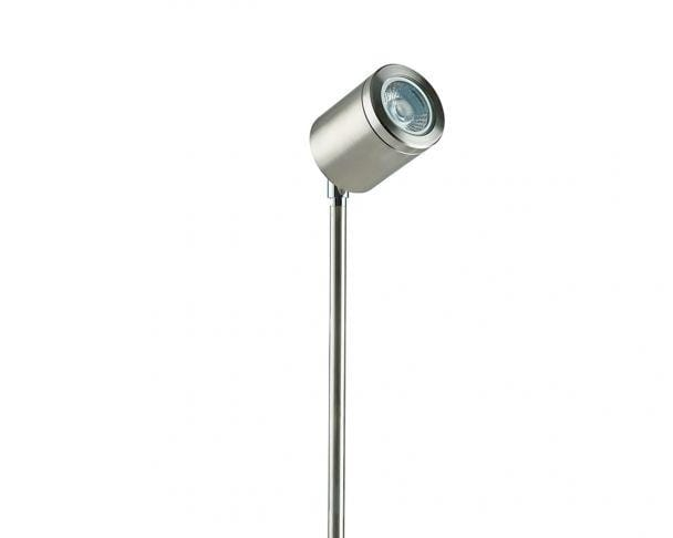 Collingwood SL220DWBM27 Stainless Steel Straight to Mains LED Spike Light 2700K - Prisma Lighting