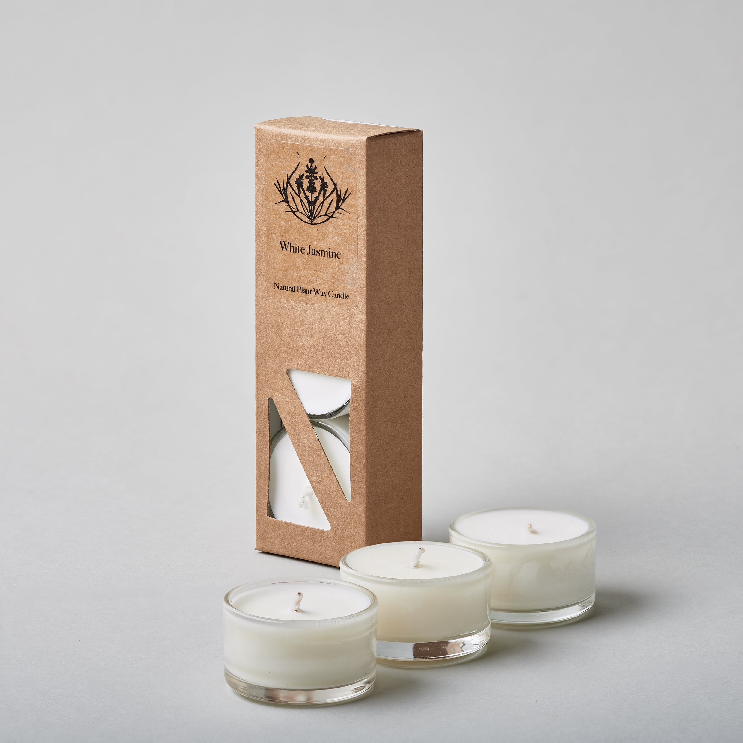 White Jasmine Natural Candle