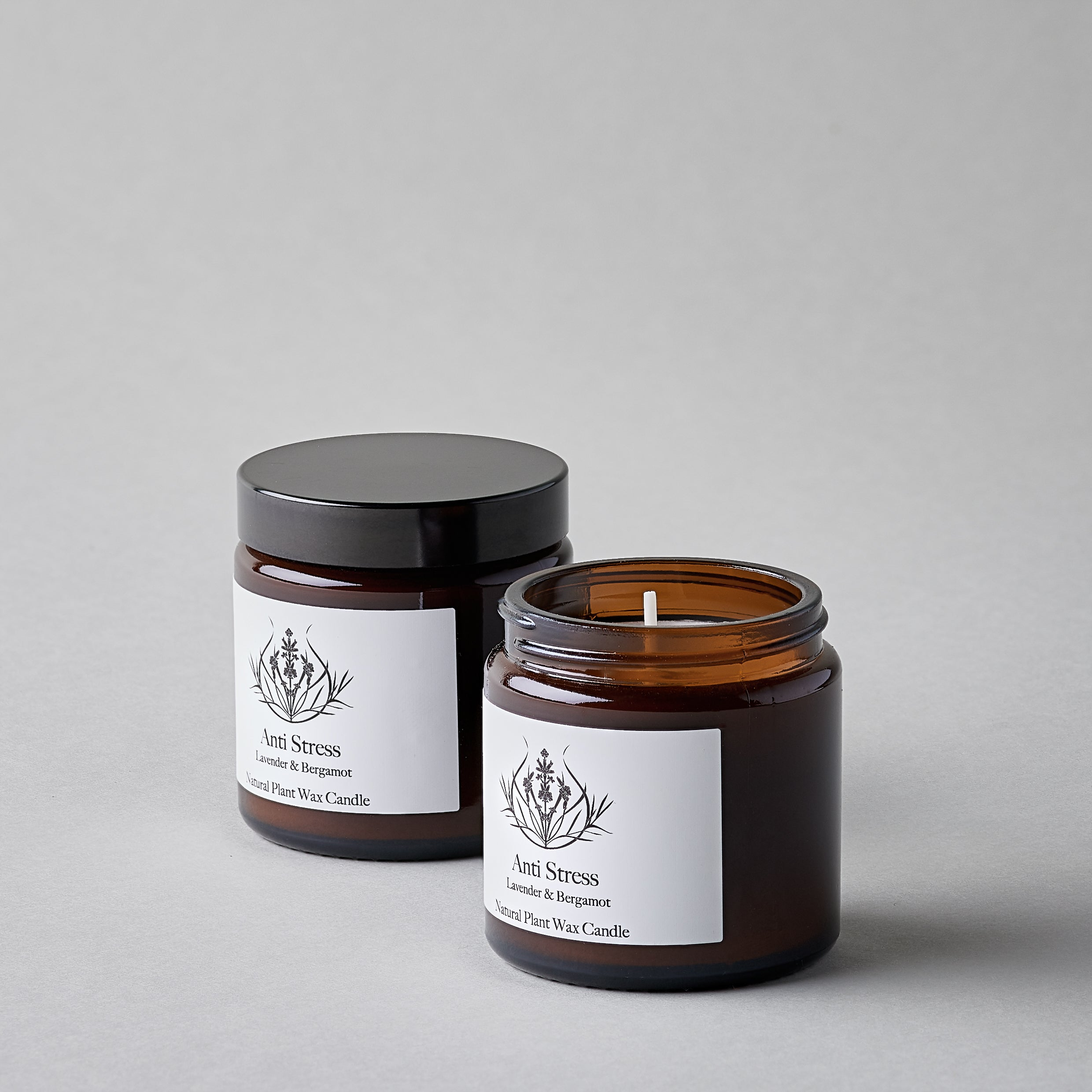 Anti Stress Natural Candle
