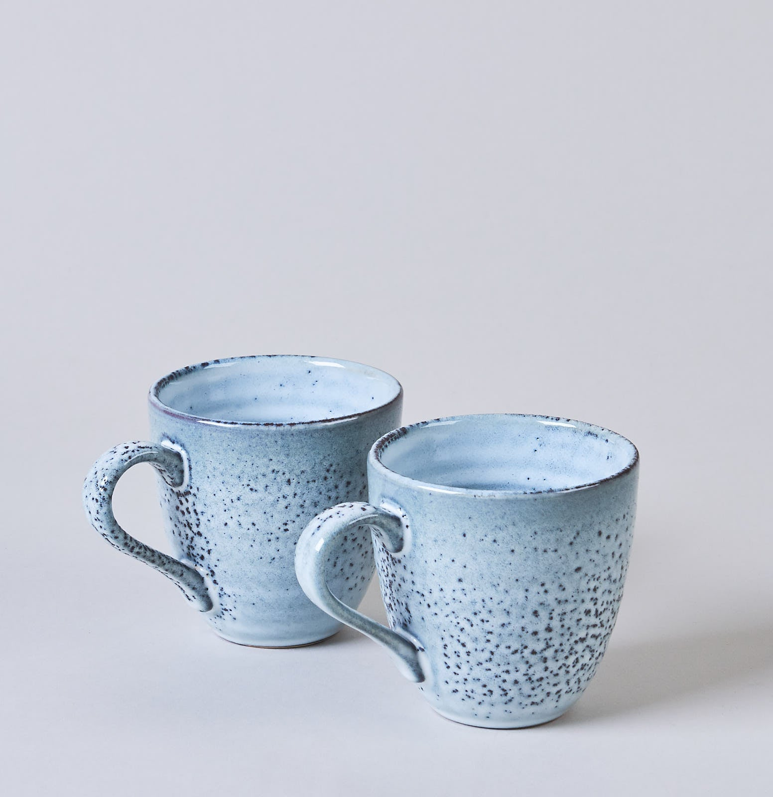 Mug In Rustic Blue Speckle