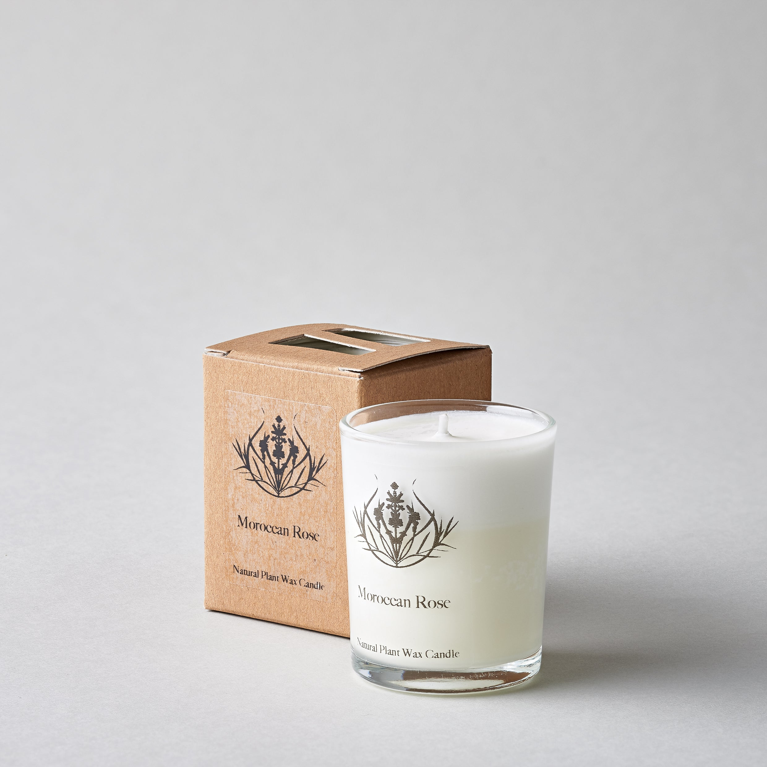 Moroccan Rose Natural Candle