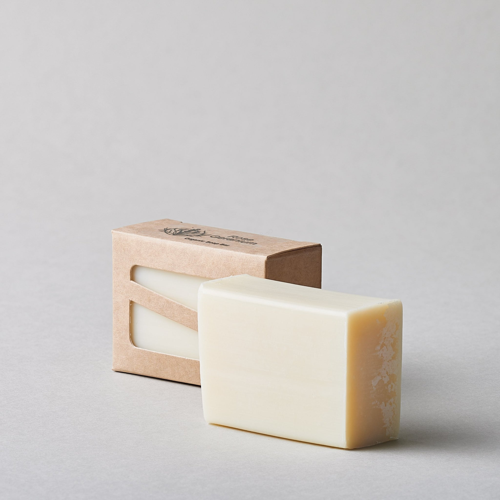 Rose Geranium Organic Soap Bar