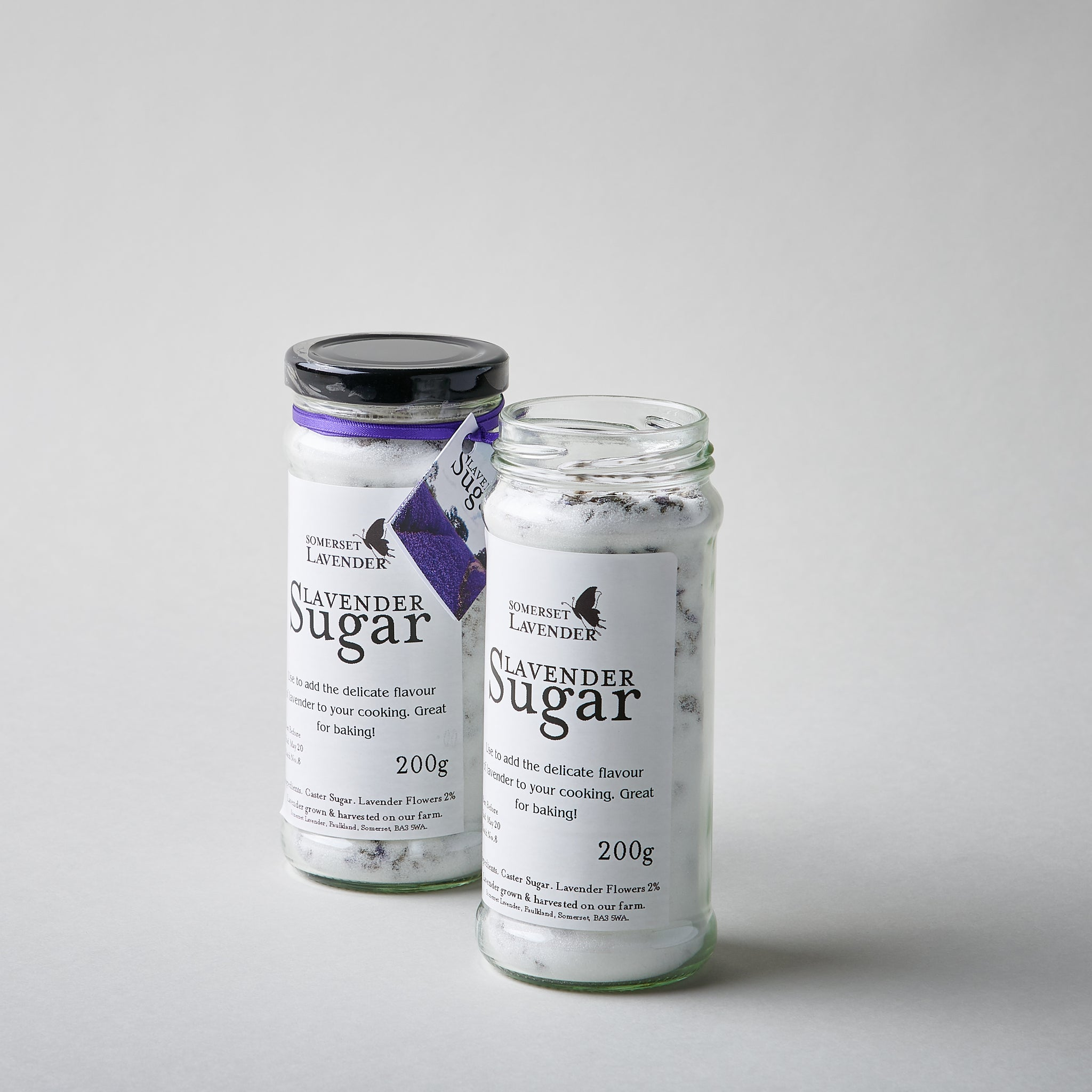 Culinary Sugar Infused with Lavender