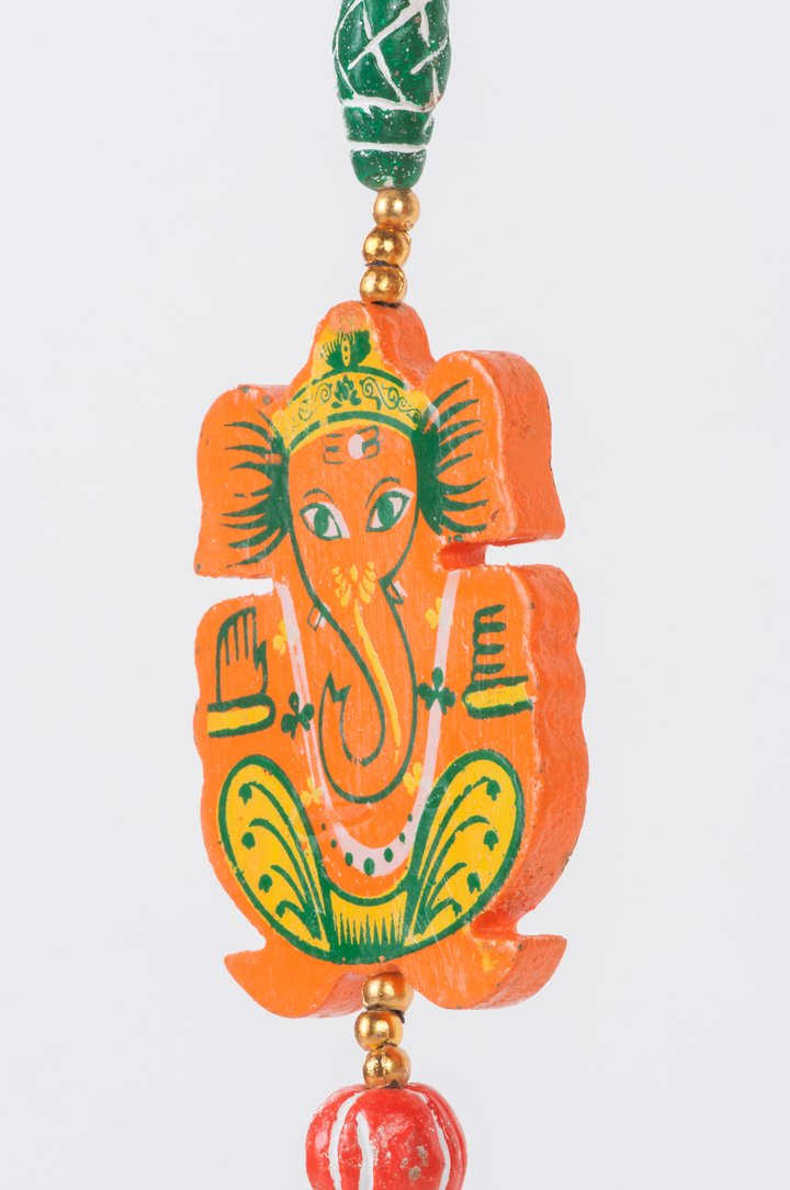 Hand Painted Hanging Ganesh
