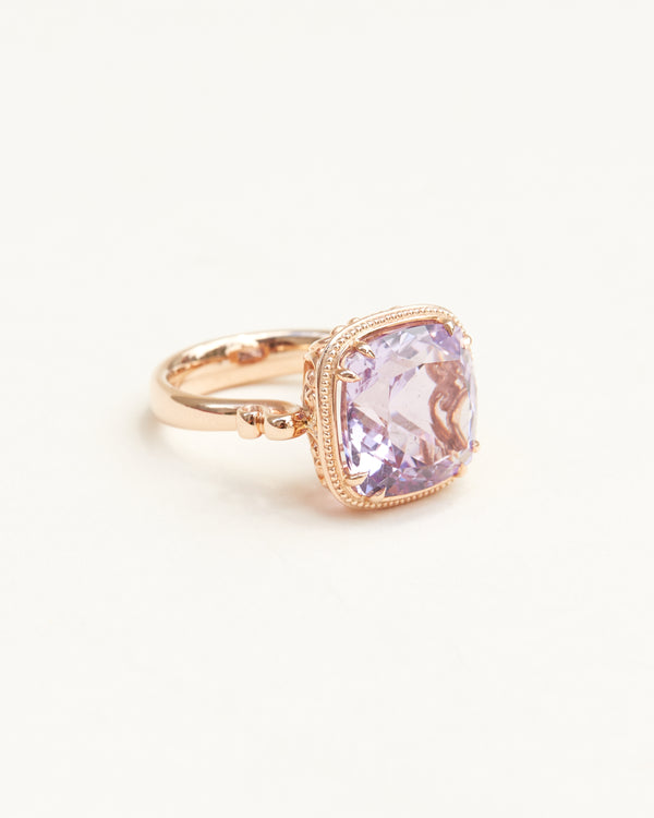 Pale Amethyst Cocktail Ring