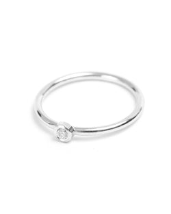 Neo Diamond Ring (Large) - 9ct White Gold