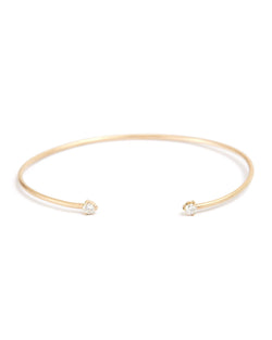Gemini Diamond Cuff - 9ct Gold