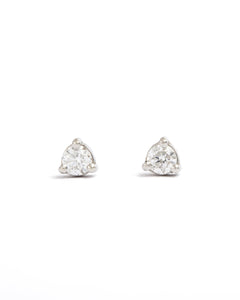 Neo 5pt Diamond Stud - 9ct White Gold
