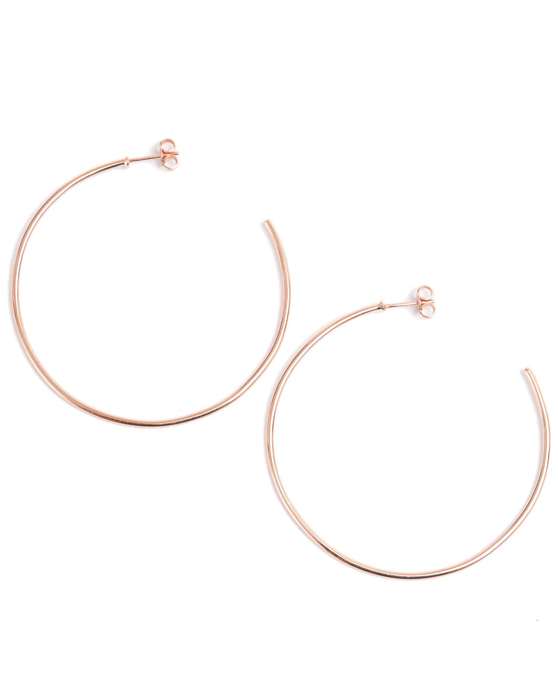 Perfect Hoops - 9ct Rose Gold