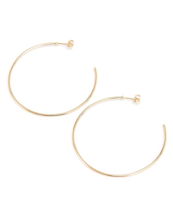 Perfect Hoops - 9ct Gold