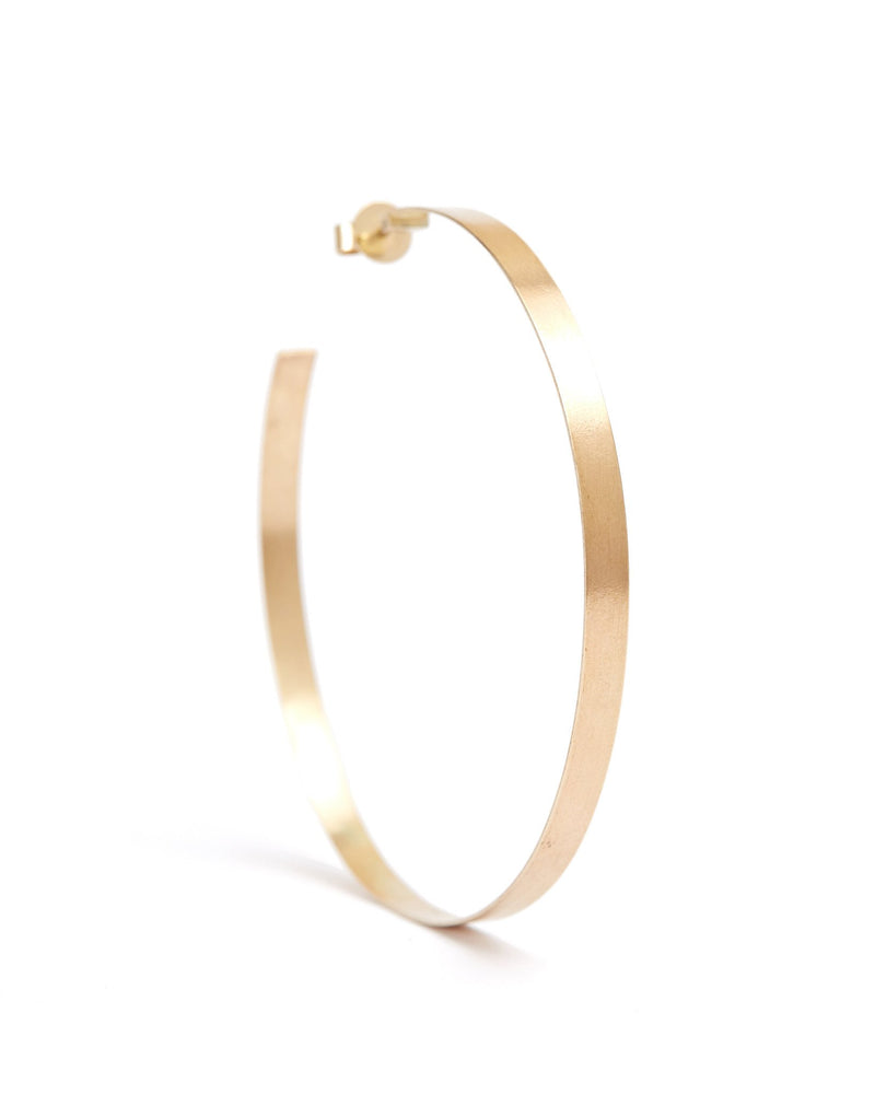 Sister Hoops - 9ct Gold
