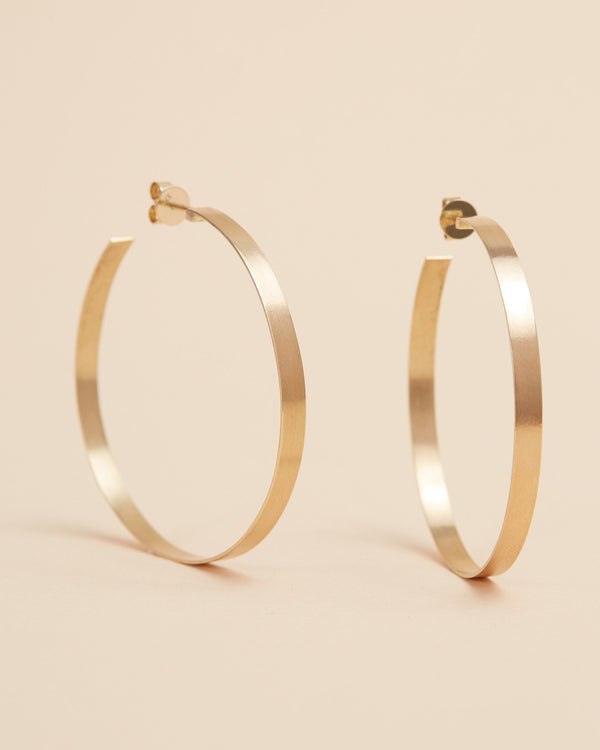Sister Hoops (Small) - 9ct Gold
