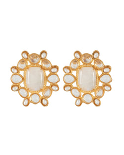 Christabelle Earrings Moonstone