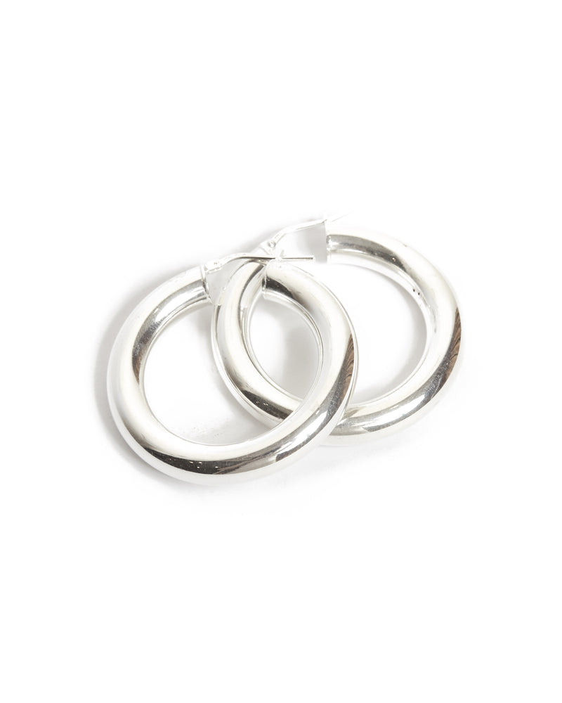 Extra Hoops Medium - Silver