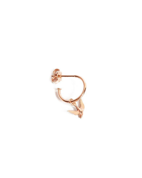 Bluebird Drop - 9ct Rose Gold