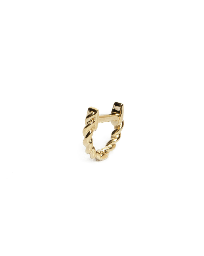 Helix Huggie Extra Small - 9ct Gold