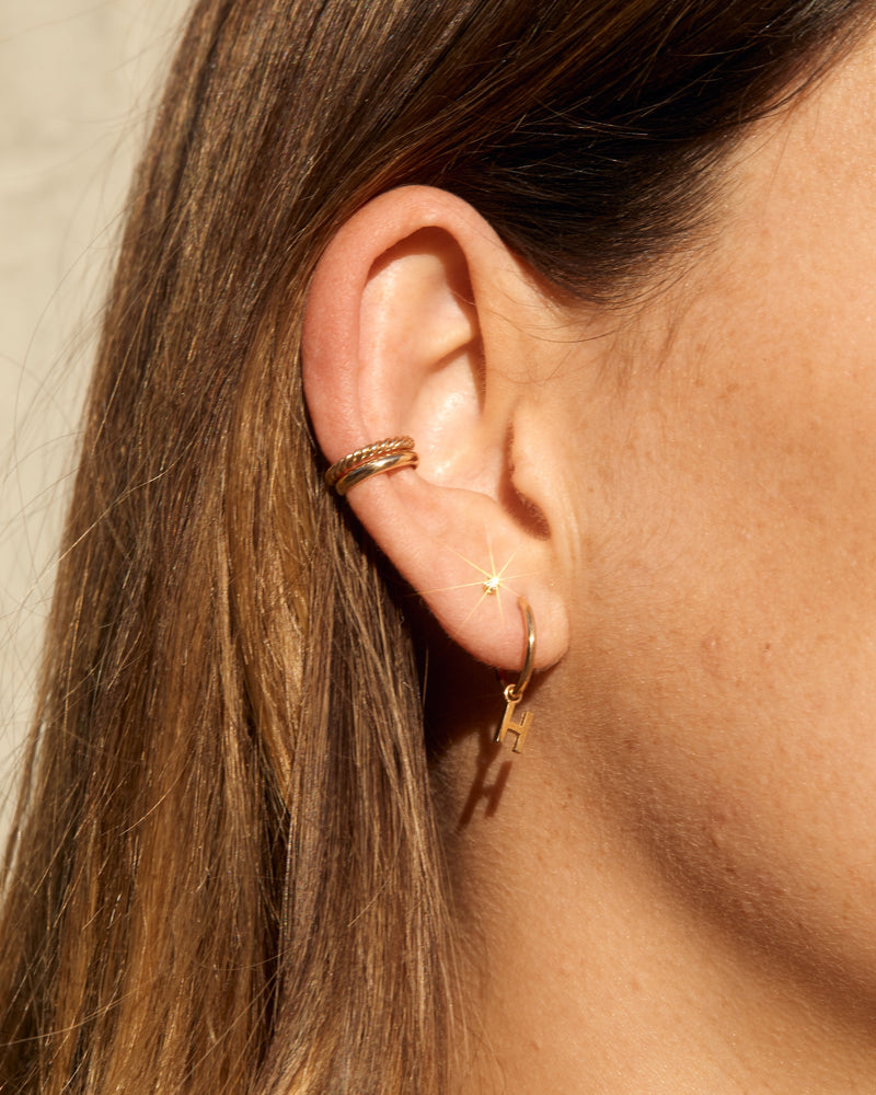 Helix Ear Cuff - 9ct Gold