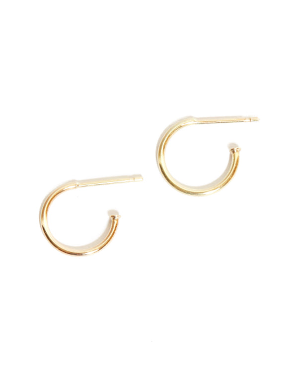 Mini Hoops - 9ct Gold