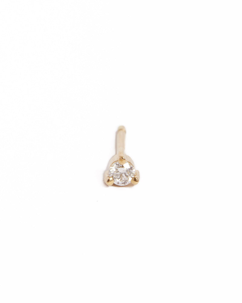 Neo 5pt Diamond Studs - 9ct Gold