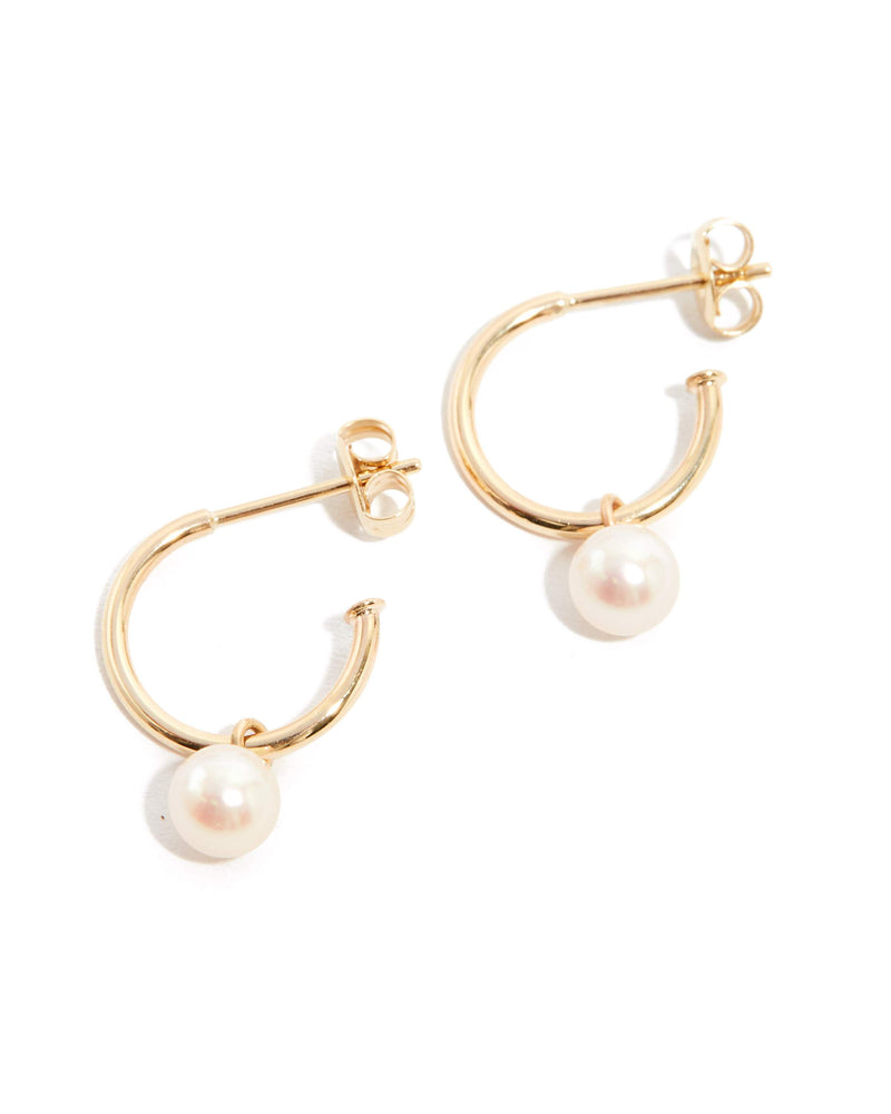 Nymph Pearl Drops - 9ct Gold