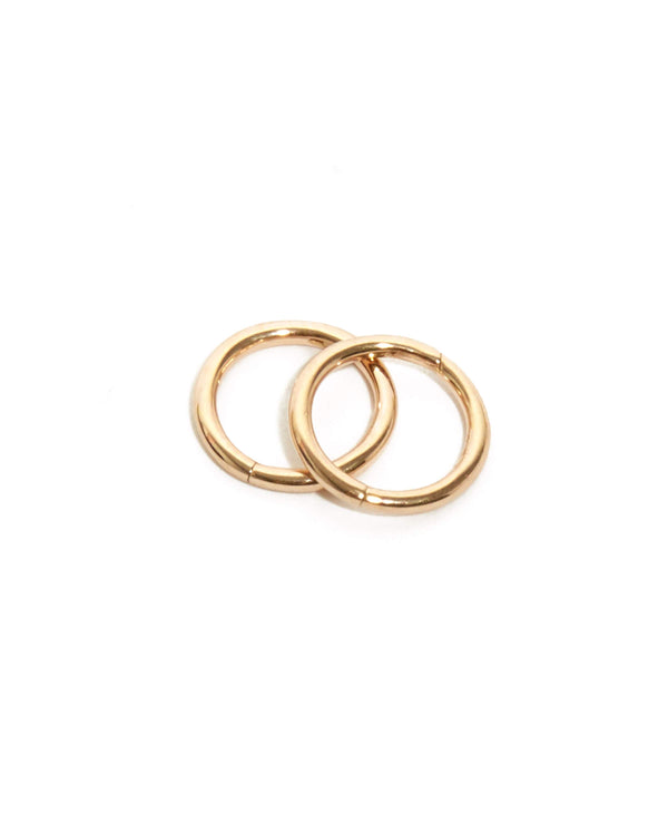 Sleeper Hoop 7mm - 9ct Gold