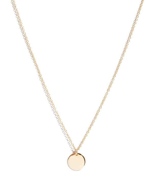 Capri Necklace Small - 9ct Gold