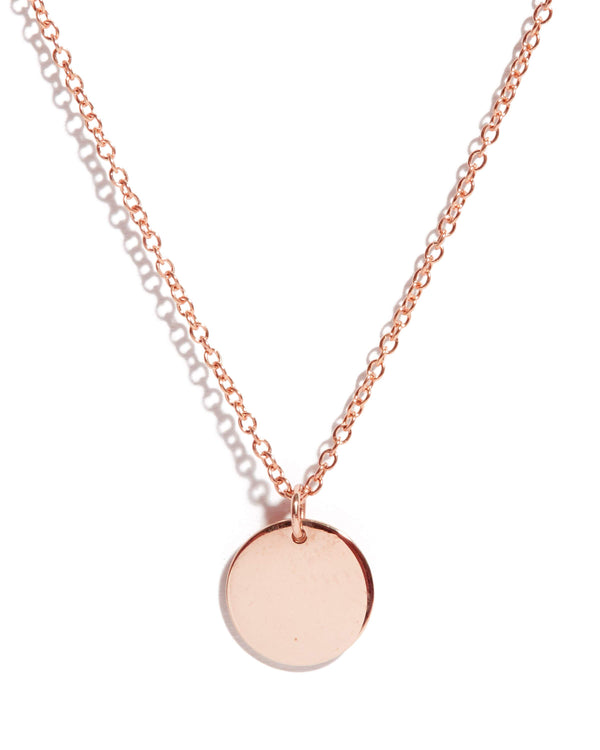 Capri Necklace Small - 9ct Rose Gold