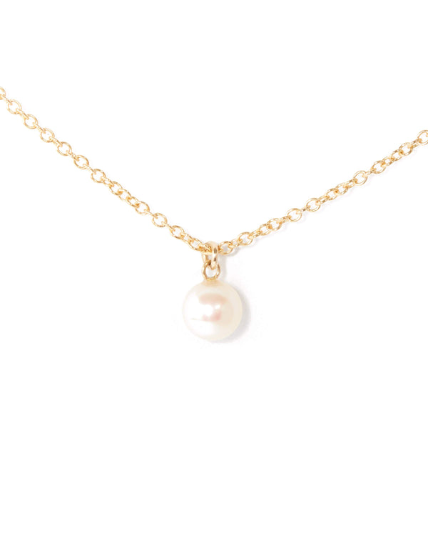 Nymph Pearl Necklace - 9ct Gold