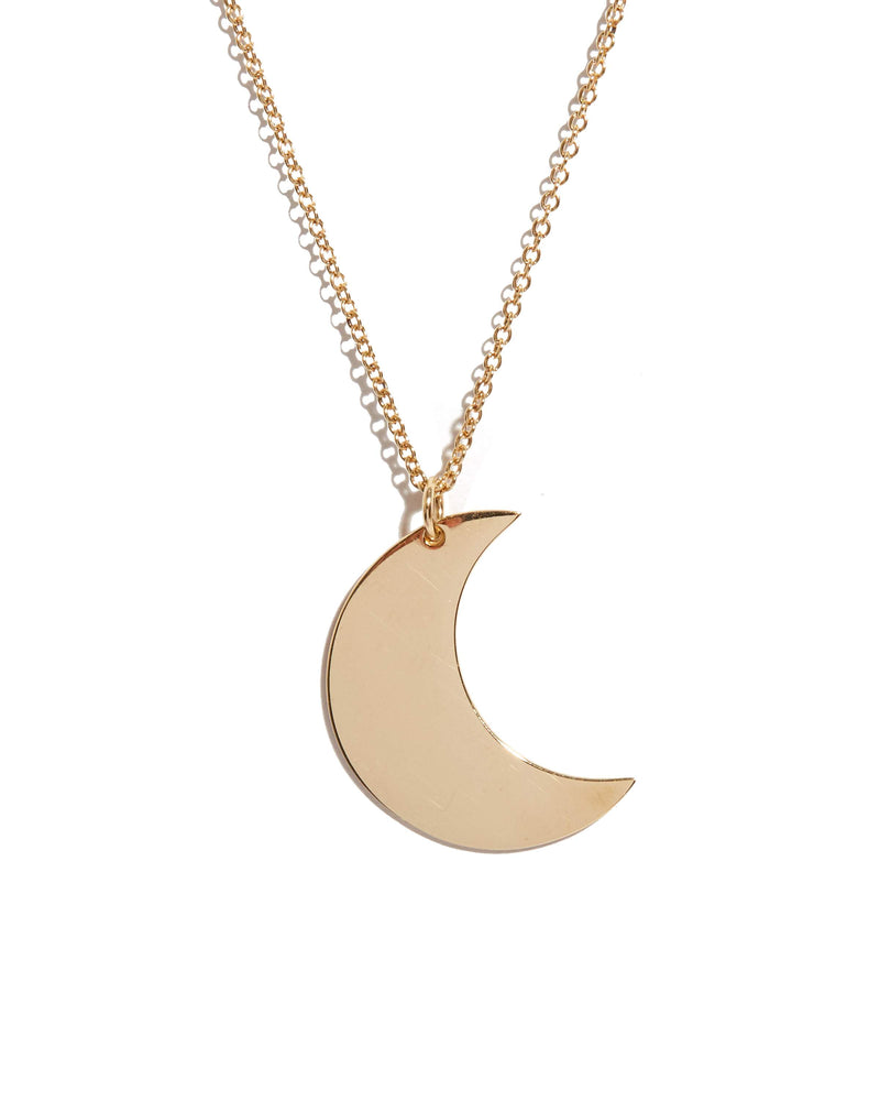 Luna Necklace - 9ct Gold