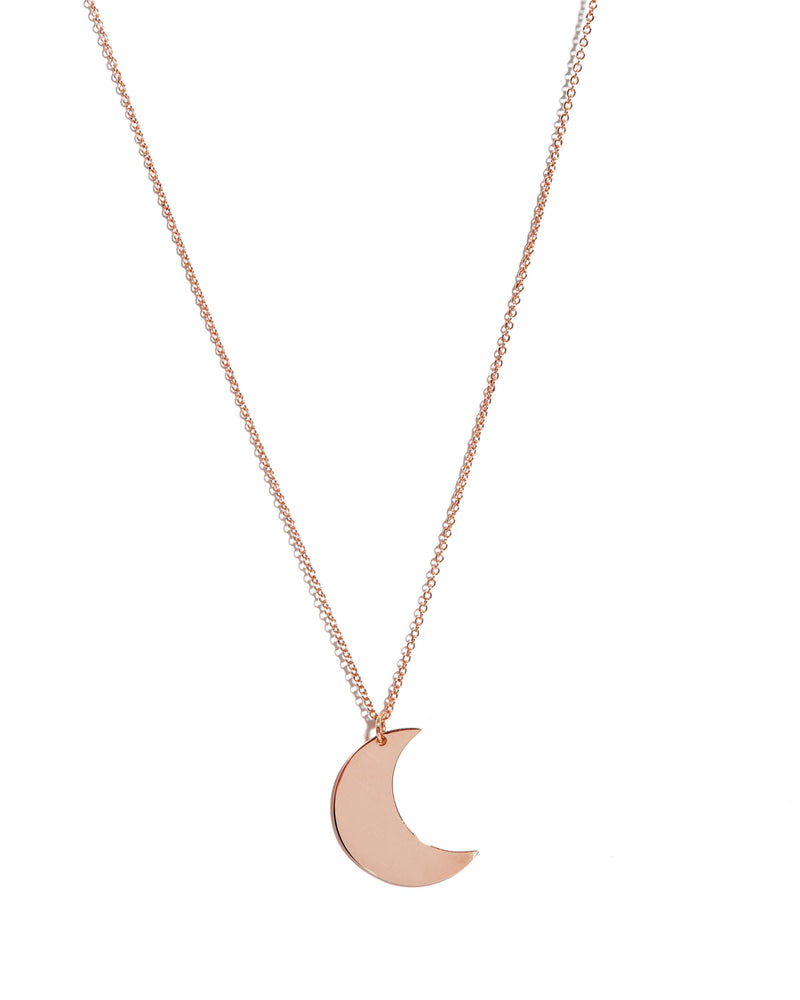 Luna Necklace - 9ct Rose Gold