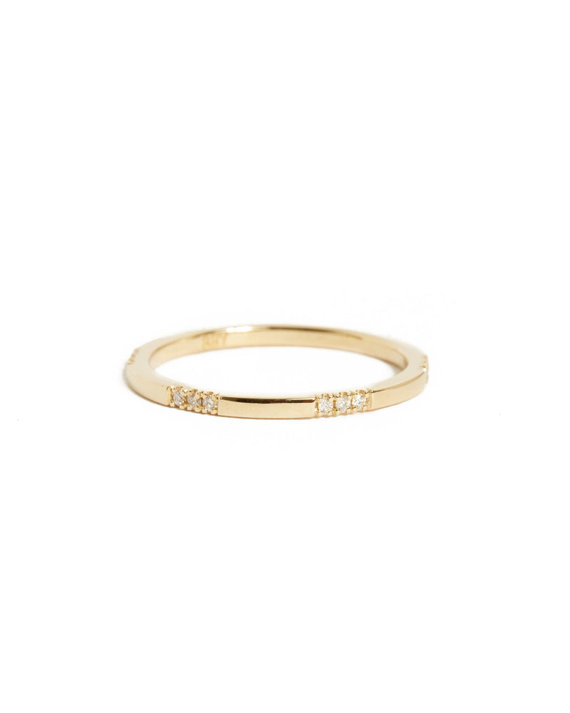 Sparkle Diamond Ring - 14ct Gold