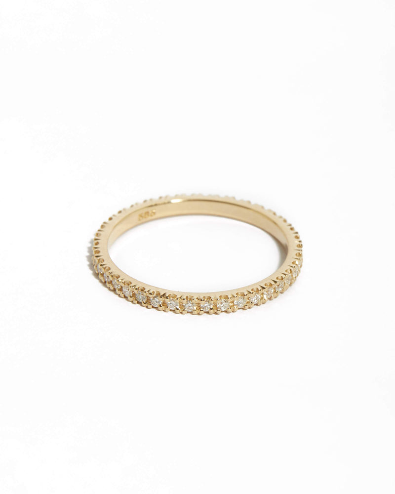 Wisp 1pt Diamond Ring - 14ct Gold