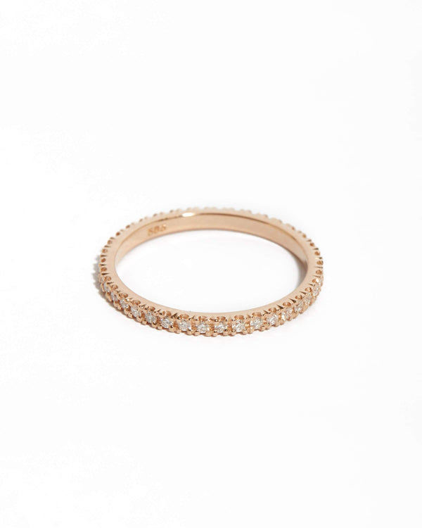 Wisp 1pt Diamond Ring - 14ct Rose Gold