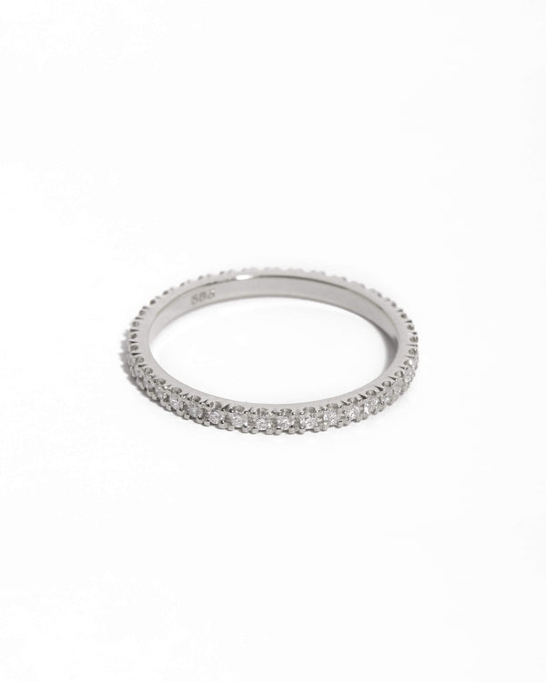Wisp 1pt Diamond Ring - 14ct White Gold