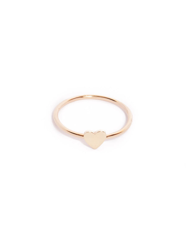 Heart Ring - 9ct Gold