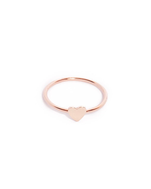 Heart Ring - 9ct Rose Gold