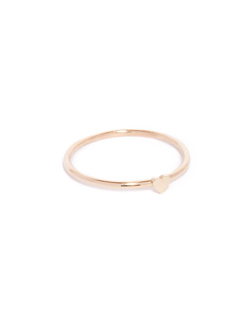 Tiny Heart Ring - 9ct Gold