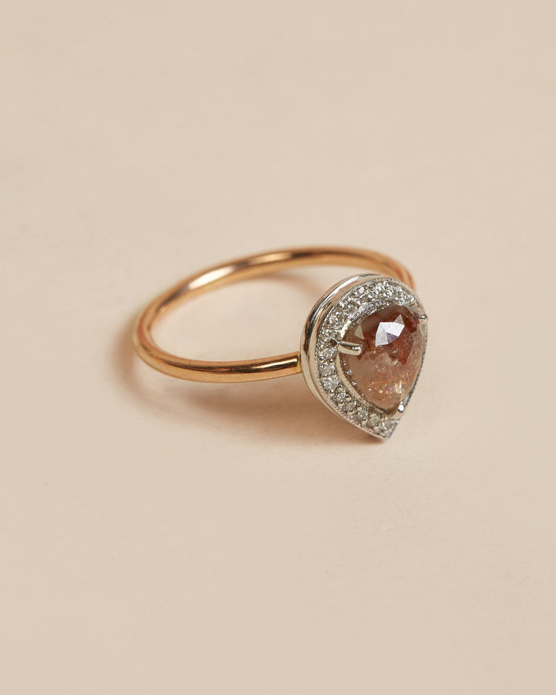 Heather Ring (Cluster) - 9ct Rose & White Gold