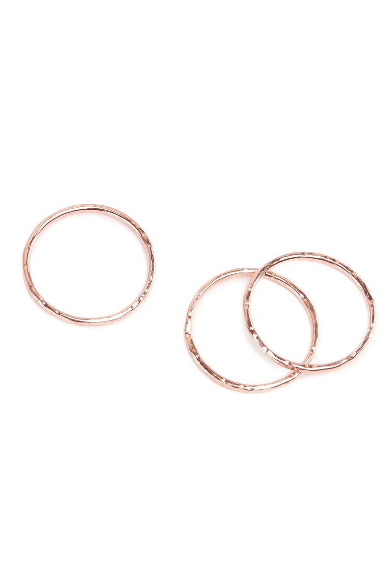 Beat Ring - 9ct Rose Gold