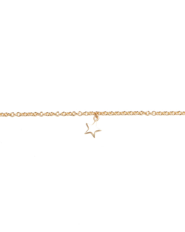 Star Bracelet - 9ct Gold