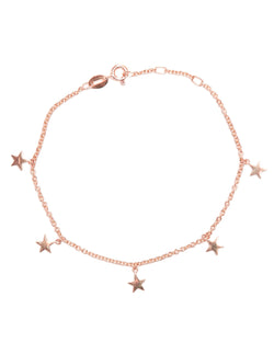 Starlet Bracelet - 9ct Rose Gold